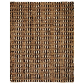Anji Mountain Jute 120-in x 168-in Rectangular Solid Area Rug