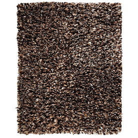 Anji Mountain Paper Shag 60-in x 96-in Rectangular Solid Area Rug