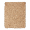 Anji Mountain Silky Shag 60-in x 96-in Rectangular Beige Solid Area Rug
