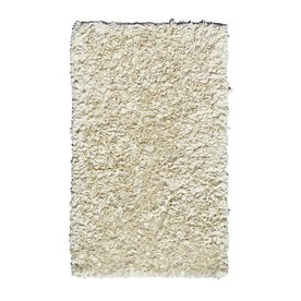 The Rug Market Kids Rectangular Cream Solid Accent Rug (Common: 2-ft x 3-ft; Actual: 22-in x 34-in)