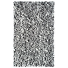 The Rug Market Kids 22-in x 34-in Rectangular Gray Accent Rug