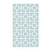 The Rug Market Kids 55-in x 7-ft 7-in Rectangular Multicolor Geometric Area Rug