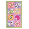 The Rug Market Kids 55-in x 7-ft 7-in Rectangular Multicolor Floral Area Rug