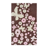 The Rug Market Kids 32-in x 56-in Rectangular Multicolor Floral Accent Rug