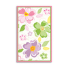 The Rug Market Kids Rectangular Multicolor Floral Accent Rug (Common: 3-ft x 5-ft; Actual: 32-in x 56-in)