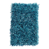 The Rug Market Resort 8-ft x 10-ft Rectangular Blue Solid Area Rug