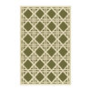 The Rug Market Resort 5-ft x 8-ft Rectangular Multicolor Geometric Indoor/Outdoor Area Rug