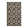 The Rug Market Resort 5-ft x 8-ft Rectangular Multicolor Geometric Area Rug