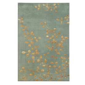 The Rug Market Rexford Rectangular Multicolor Transitional Wool Area Rug (Common: 8-ft x 11-ft; Actual: 8-ft x 11-ft)