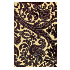 The Rug Market Rexford Rectangular Multicolor Transitional Wool Area Rug (Common: 5-ft x 8-ft; Actual: 5-ft x 8-ft)