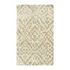 The Rug Market Shabati Rectangular Multicolor Transitional Wool Area Rug (Common: 8-ft x 11-ft; Actual: 8-ft x 11-ft)