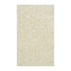 The Rug Market Shabati Rectangular Multicolor Block Wool Area Rug (Common: 5-ft x 8-ft; Actual: 5-ft x 8-ft)