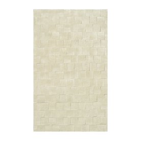 The Rug Market Shabati Rectangular Multicolor Block Wool Area Rug (Common: 10-ft x 13-ft; Actual: 10-ft x 13-ft)