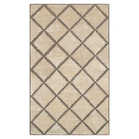 The Rug Market Shabati Rectangular Multicolor Geometric Wool Area Rug (Common: 10-ft x 13-ft; Actual: 10-ft x 13-ft)