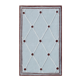 The Rug Market Kids Rectangular Multicolor Geometric Area Rug (Common: 5-ft x 8-ft; Actual: 4-ft 7-in x 7-ft 7-in)