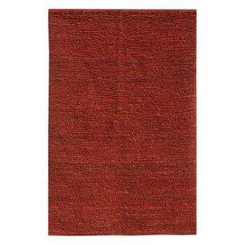 Jaipur Calypso 24-in x 36-in Rectangular Red Solid Jute Accent Rug