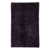 Jaipur Flux 24-in x 36-in Rectangular Purple Accent Rug