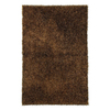 Jaipur Flux 24-in x 36-in Rectangular Brown Accent Rug