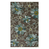 Jaipur Brio 24-in x 36-in Rectangular Multicolor Floral Accent Rug