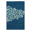 Jaipur Coastal Living Hand Tufted 24-in x 36-in Rectangular Multicolor Transitional Accent Rug