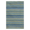 Jaipur Coastal Living 5-ft x 8-ft Rectangular Multicolor Geometric Area Rug