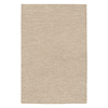 Jaipur Touchpoint 5-ft x 8-ft Rectangular White Solid Area Rug
