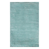 Jaipur Konstrukt 5-ft x 8-ft Rectangular Blue Solid Area Rug