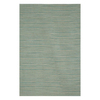 Jaipur Pura Vida 8-ft x 10-ft Rectangular Aqua Solid Area Rug