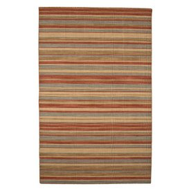 Jaipur Pura Vida Rectangular Multicolor Transitional Indoor/Outdoor Wool Area Rug (Actual: 8-ft x 10-ft)