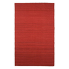 Jaipur Nuance 8-ft x 10-ft Rectangular Red Solid Wool Area Rug