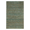 Jaipur Hula 8-ft x 10-ft Rectangular Blue Solid Area Rug