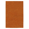 Jaipur Touchpoint 8-ft x 11-ft Rectangular Orange Solid Area Rug
