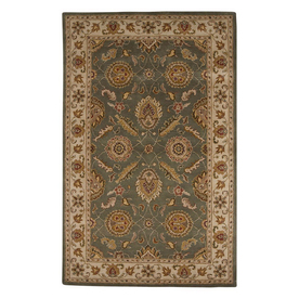 Jaipur Mythos Rectangular Multicolor Transitional Wool Area Rug (Actual: 12-ft x 15-ft)