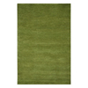 Jaipur Touchpoint 3-ft 6-in x 5-ft 6-in Rectangular Green Solid Area Rug