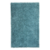 Jaipur Flux 3-ft 6-in x 5-ft 6-in Rectangular Blue Solid Area Rug