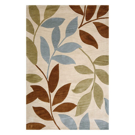 Jaipur Fusion 5-ft x 7-ft 6-in Rectangular Multicolor Transitional Area Rug