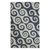 Jaipur Coastal Living 6-ft 6-in x 9-ft 6-in Rectangular Multicolor Transitional Indoor/Outdoor Area Rug