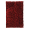 Jaipur Flux 6-ft 6-in x 9-ft 6-in Rectangular Red Solid Area Rug