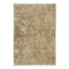 Jaipur Flux 6-ft 6-in x 9-ft 6-in Rectangular Gray Solid Area Rug