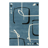 Jaipur Blue 9-ft 6-in x 13-ft 6-in Rectangular Multicolor Transitional Area Rug