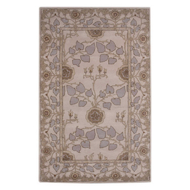 Jaipur Poeme 9-ft 6-in x 13-ft 6-in Rectangular Multicolor Floral Wool Area Rug