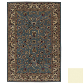 Kaleen Mystical Garden Rectangular Multicolor Transitional Wool Area Rug (Common: 5-ft x 8-ft; Actual: 5-ft x 7-ft 9-in)