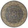 Kaleen Mystical Garden 5-ft 9-in x 5-ft 9-in Round Multicolor Transitional Area Rug