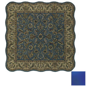 Kaleen Mystical Garden 5-ft 9-in x 5-ft 9-in Square Multicolor Transitional Area Rug