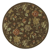 Kaleen Tara 11-ft 9-in x 11-ft 9-in Round Multicolor Floral Area Rug