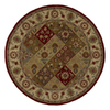 Kaleen Tara 9-ft 9-in x 9-ft 9-in Round Multicolor Floral Area Rug