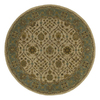 Kaleen Tara Round Multicolor Transitional Wool Area Rug (Common: 12-ft x 12-ft; Actual: 11-ft 9-in x 11-ft 9-in)