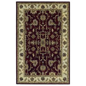Kaleen Presidential Picks 5-ft 3-in x 8-ft Rectangular Multicolor Transitional Wool Area Rug