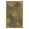 Kaleen Mystical Garden 7-ft 9-in x 7-ft 9-in Round Multicolor Transitional Area Rug