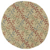 Kaleen Home and Porch 5-ft 9-in x 5-ft 9-in Round Multicolor Transitional Indoor/Outdoor Area Rug